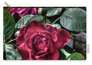 Rose And Bud Carry-all Pouch