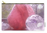 Rose And Clear Quartz 1 Carry-all Pouch