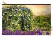Rose Arbor At Sunset Carry-all Pouch