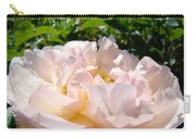 Rose Art Prints Canvas Sunlit Pink Rose Garden Baslee Troutman Carry-all Pouch