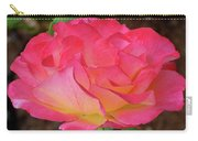 Rose Blushing Carry-all Pouch