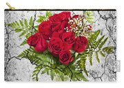 Rose Bouquet Carry-all Pouch