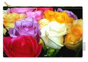 Rose Bouquet Painting Carry-all Pouch