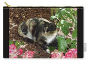 Rose Bower For A Cat Carry-all Pouch