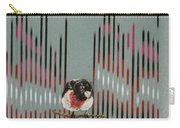 Rose Breasted Grosbeak And Song Carry-all Pouch
