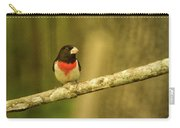 Rose Breasted Grossbeak Eying You Carry-all Pouch