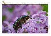 Rose Chafer On Lilac Carry-all Pouch