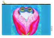 Rose City Rain Frog Carry-all Pouch
