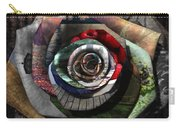 Rose - Collaged Petals Carry-all Pouch
