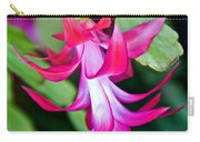 Rose-colored Christmas Cactus At Pilgrim Place In Claremont-california  Carry-all Pouch