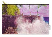 Rose Colored Splash At Mackenzie Carry-all Pouch