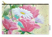 Rose Diptych 1 Carry-all Pouch