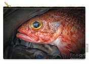 Rose Fish Carry-all Pouch