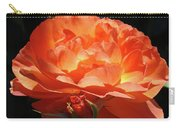 Rose Flower Art Prints Oragne Roses Summer Botanical Baslee Troutman Carry-all Pouch