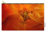 Rose Flower Orange Glowing Rose Giclee Baslee Troutman Carry-all Pouch