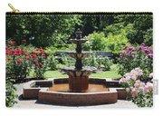 Rose Garden Fountain Carry-all Pouch