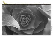 Rose In Black Carry-all Pouch