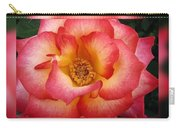 Rose In Reflection Carry-all Pouch