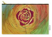 Rose In Vorteks Carry-all Pouch
