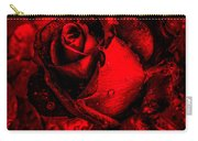 Furious Rose Magic Red Carry-all Pouch