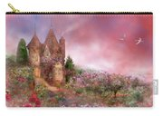 Rose Manor Carry-all Pouch by Carol Cavalaris