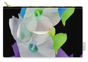 Rose Of Sharon Painted Carry-all Pouch
