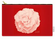 Rose On Red Carry-all Pouch