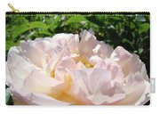 Rose Pink Sunlit Rose Flower Art Prints Baslee Troutman Carry-all Pouch
