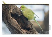 Rose-ringed Parakeet 03 Carry-all Pouch
