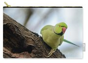Rose-ringed Parakeet 04 Carry-all Pouch