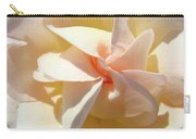 Rose Spiral Flower Art Prints Peach Rose Floral Baslee Troutman Carry-all Pouch
