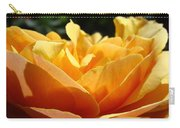 Rose Sunlit Orange Rose Garden 7 Rose Giclee Art Prints Baslee Troutman Carry-all Pouch
