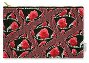 Rose Tiles Carry-all Pouch