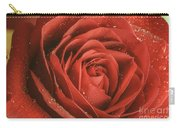 Rose Waiting In The Rain Carry-all Pouch