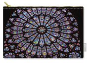 Rose Window At Notre Dame Cathedral Paris Carry-all Pouch