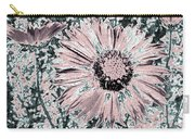 Rose Wine Daisies Carry-all Pouch