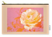 Rose With Pink Background Carry-all Pouch