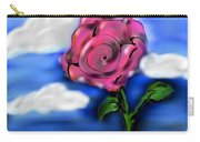 Rose Within The Clouds Carry-all Pouch