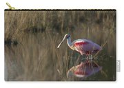 Roseate Spoonbill In Morning Light Carry-all Pouch