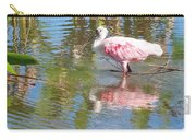 Roseate Spoonbill Young Adult Carry-all Pouch