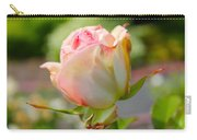 Rosebud Pale Pink Carry-all Pouch