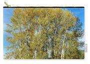 Rosehips And Cottonwoods Carry-all Pouch