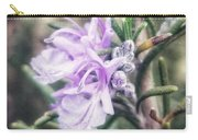 Rosemary Blooming Carry-all Pouch