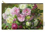 Roses  Carry-all Pouch by Albert Williams