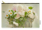 Roses And Daisys Carry-all Pouch