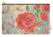 Roses And Flowers Carry-all Pouch