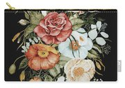 Roses And Poppies Bouquet Carry-all Pouch