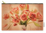 Roses And Tulips Carry-all Pouch
