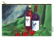 Roses And Wine Carry-all Pouch