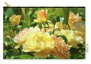 Roses Art Prints Rose Garden Flowers Giclee Prints Baslee Troutman Carry-all Pouch